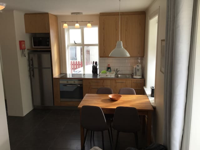 Cozy apartment with private parking - Akureyri - Departamento