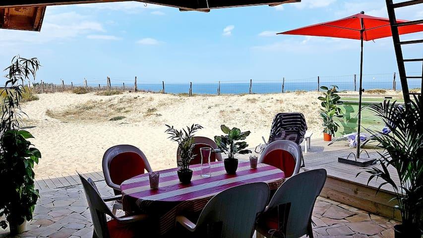 Maison face à l'océan