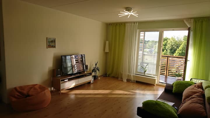 2-room apartment with a big sunny balcony.