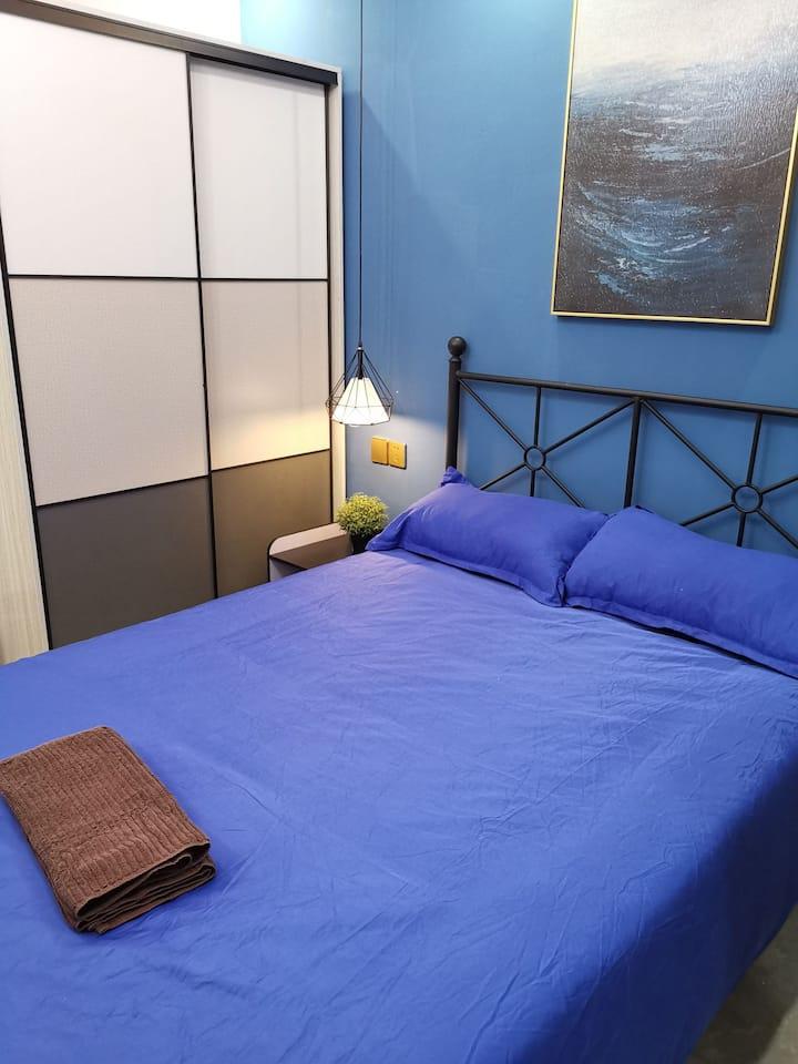 地铁二号线淞虹路站附近精装一室户新房出租