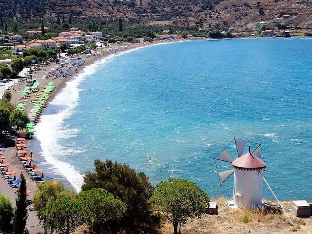 Anaxos beach...
