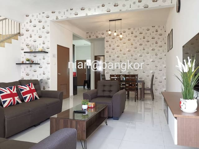 Spacious Comfortable House*5min to Pangkor beach
