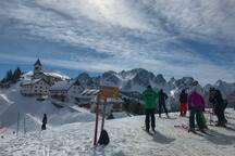 Tarvisio / Monte Lussari (40 Km. by car)