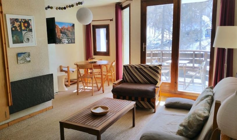 Grand studio 32m2 4 à 6 personnes - Les Orres - Apartment