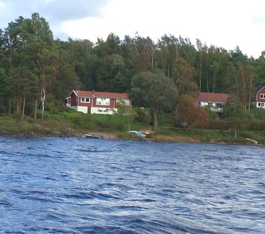 House by Lake Lygnern 60 km from Gothenburg