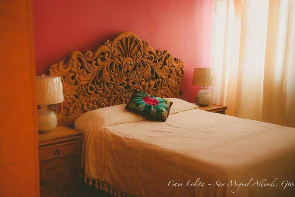 recamara 2 cama queen size comodisima