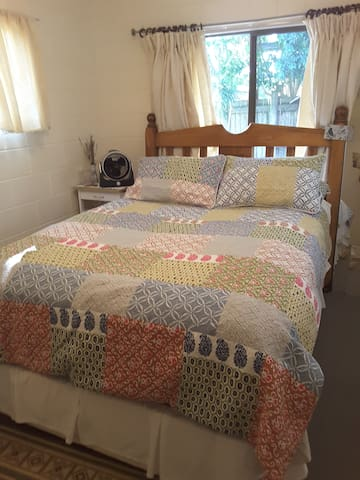 QUEEN BEDROOM -Sunshine Beach $55 for 1, $80 for 2