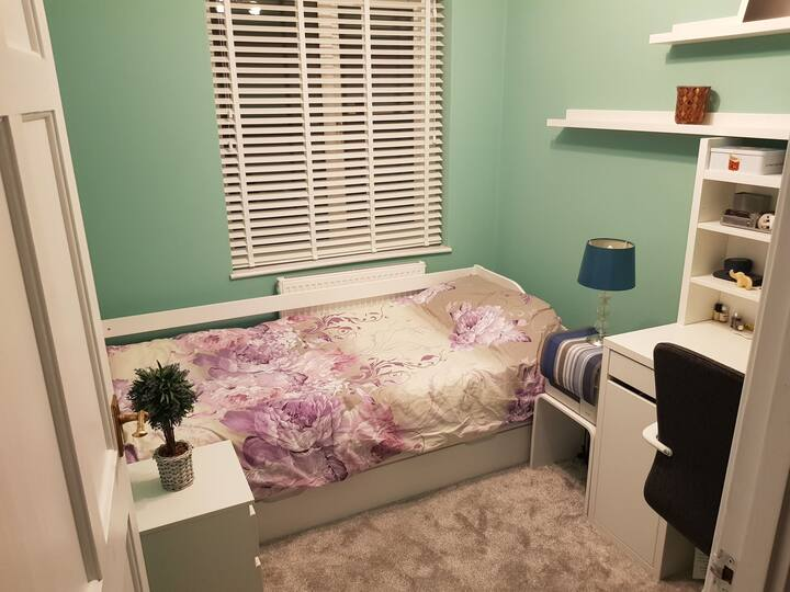Cosy single room in a beautiful house