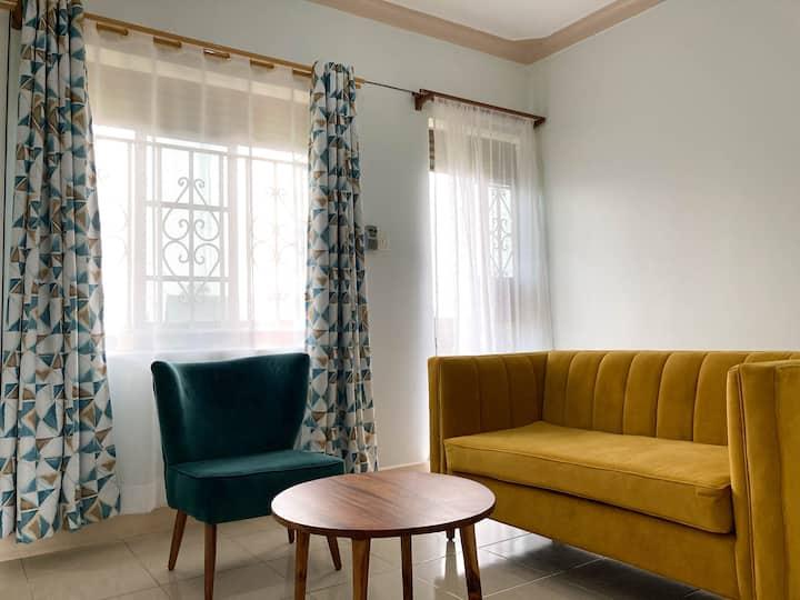 Stylish one bedroom apartment in Kampala