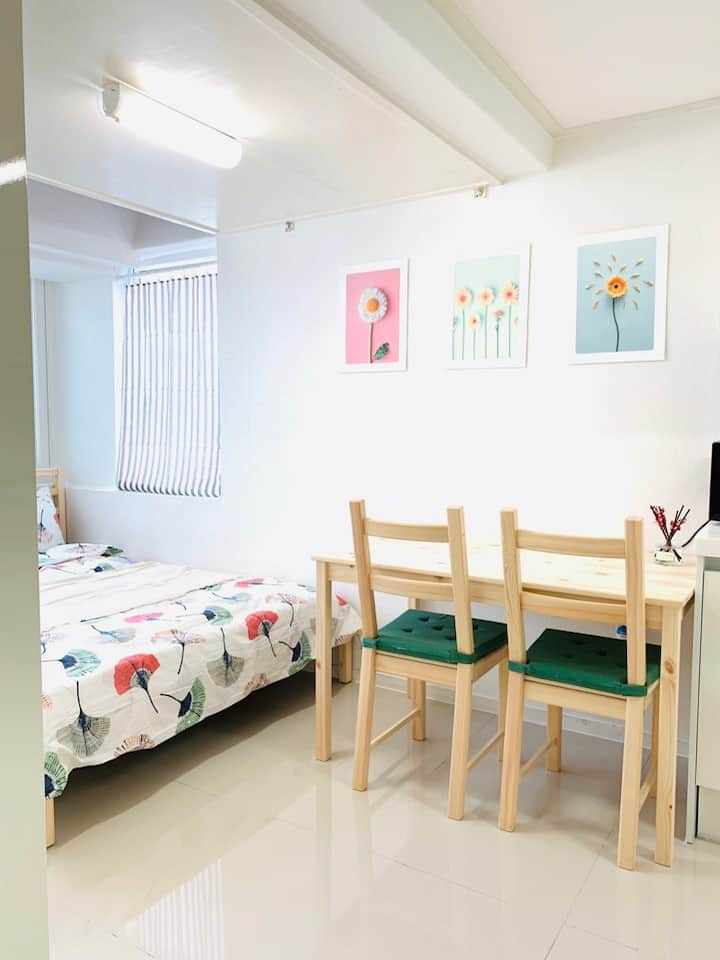 Unit #501: Cute and clean studio for 2 in Gangnam