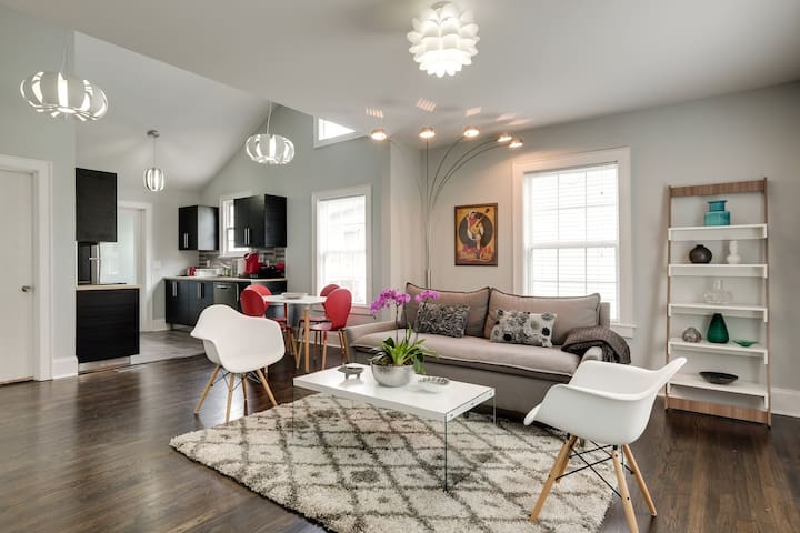 Perfect Getaway In Awesome East Nashville