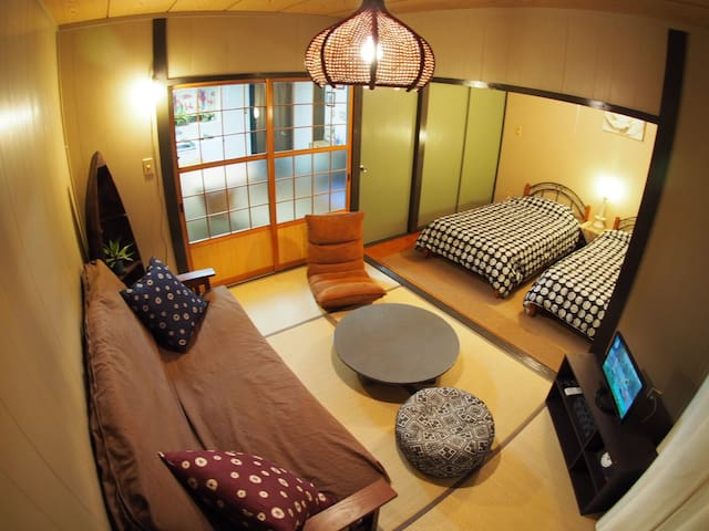 (Free parking&wi-fi) Chatan hills Tomo's apartment - 中頭郡北谷町 - Appartement