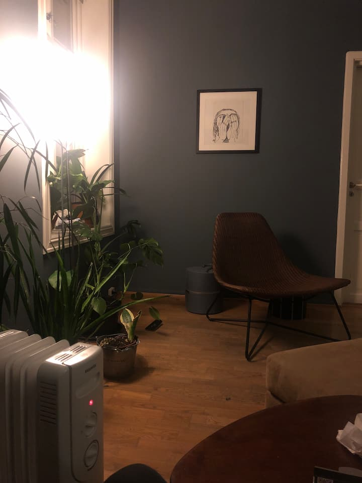 Cozy 69m2 apartment at Grünerløkka