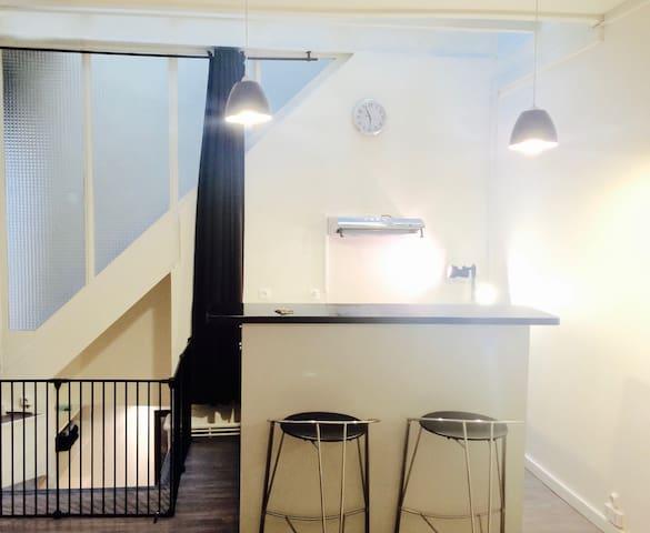 NEW !! SUPER LOFT side MARAIS & NOTRE DAME - París - Apartamento