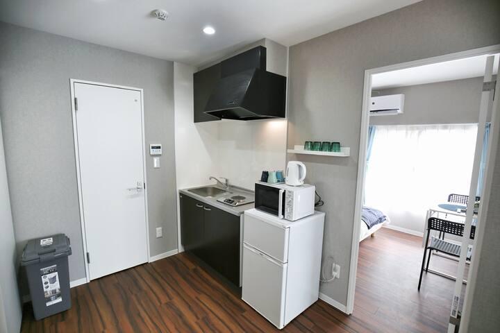 「江戶川日式公寓102」直達秋葉原、新宿;交通便利、周邊繁華、步行地鐵5分鐘