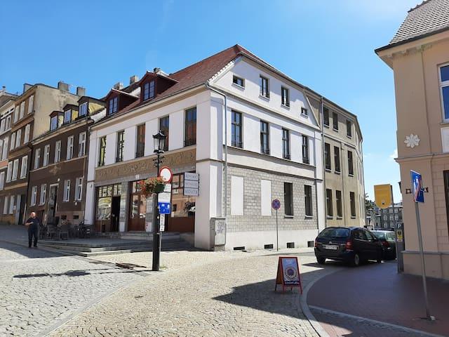Apartament w centrum Gniezna z widok na Katedra
