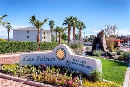 3 Bedroom Condo in Las Palmas, pool spa sleeps 6+! - St. George - Condominium