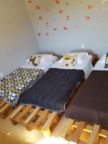 Nosso Hostel (Quarto 3)