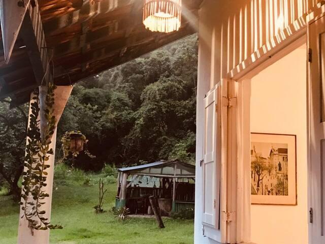 """Hospedaria da Fábrica suíte """"zen"""""""
