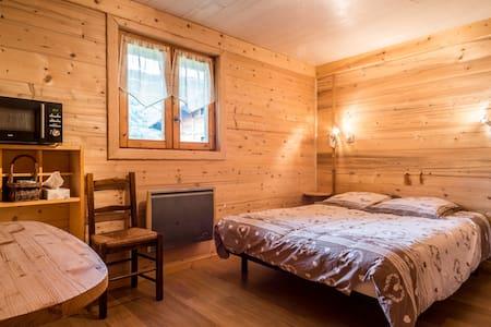 Chambre d'hôtes avec douche et wc - Saint-Jean-d'Aulps - Lomamökki