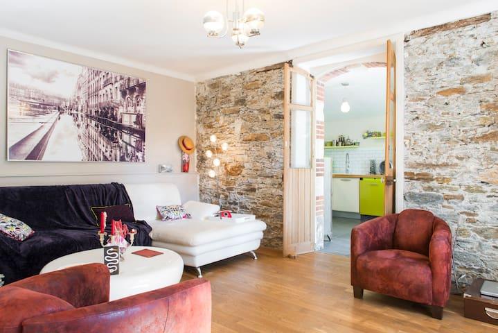 Chambre avec jardin - Nantes - Byt