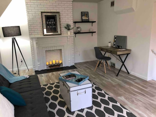 Modern & Bright 1BD/1BR Centrally Located Apt
