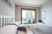 Great balcony room at heart XinTianDi