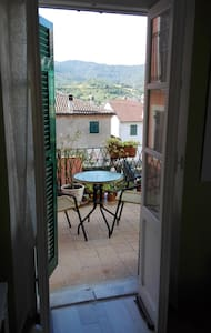 Private room with balcony in Bosio (AL ) - Bosio - House