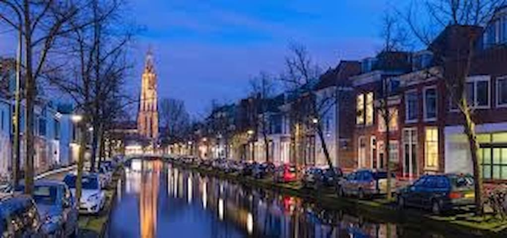 Very cosy apartment in city centre Delft