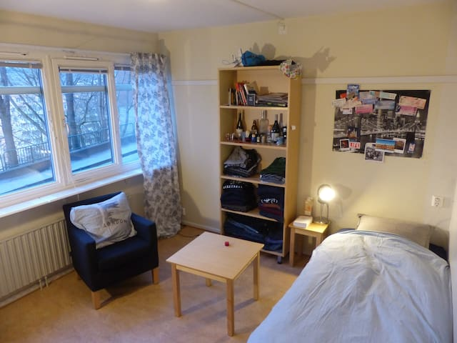 Cosy single room in the center - Gothenburg - Apartment