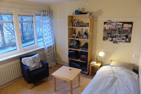 Cosy single room in the center - Gothenburg