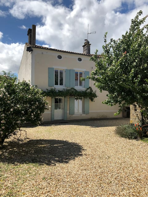 Pretty Detached Stone House in Rural Charente