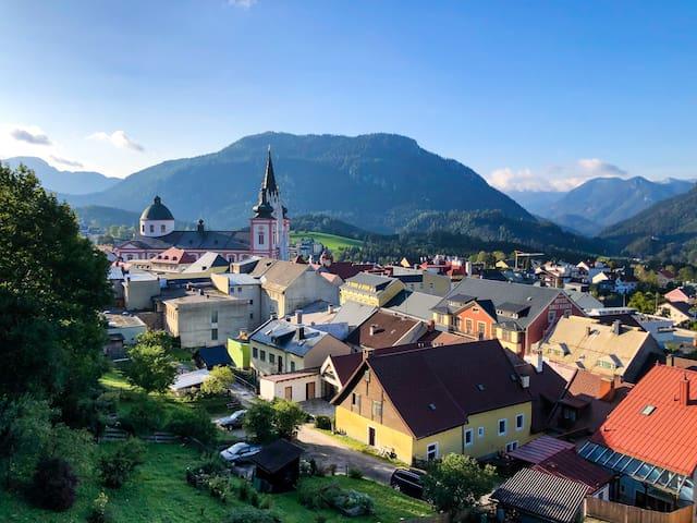 Dahoam in Mariazell-traumhafte Aussicht inklusive