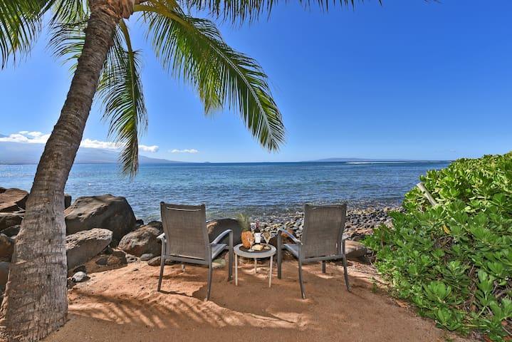 Maalaea Banyans 203- Beachy & Breezy w/Ocean View!