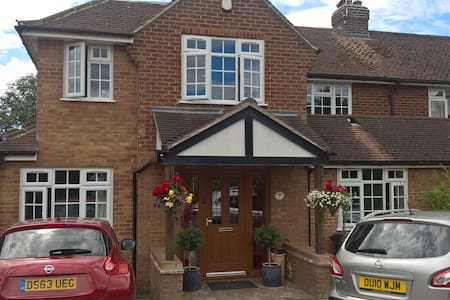 Lovely house, close 2 station, 2 sep rooms listed - Wheathampstead - Haus