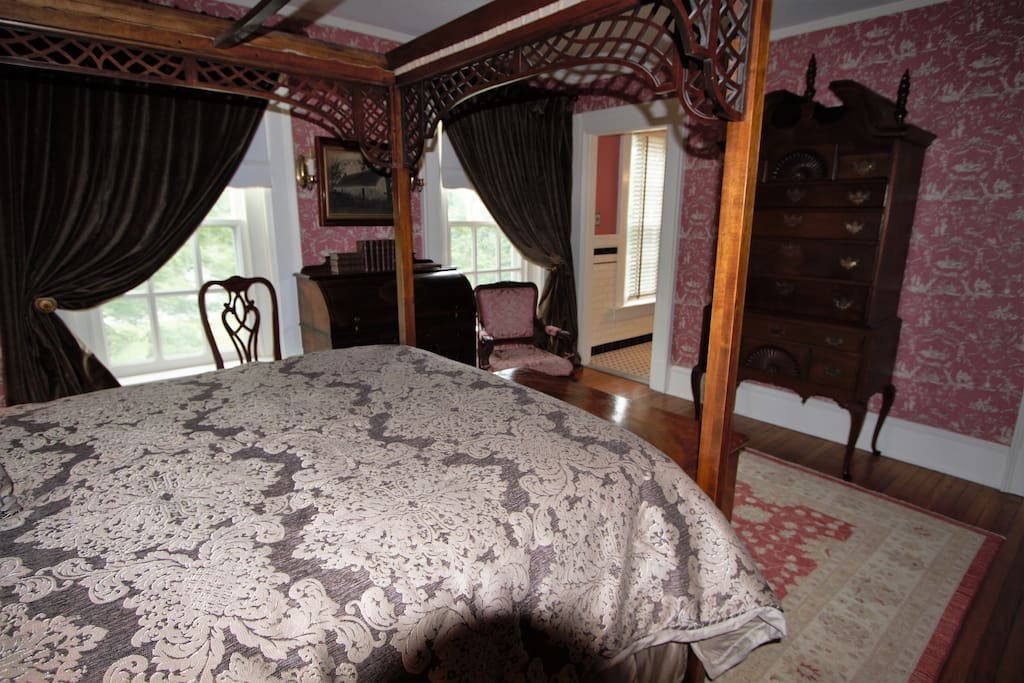 The Long Branch Room with private bath