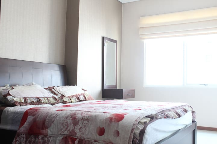 Best View & Warm 2BR Apart in the heart of JKT - Tanahabang - Appartement