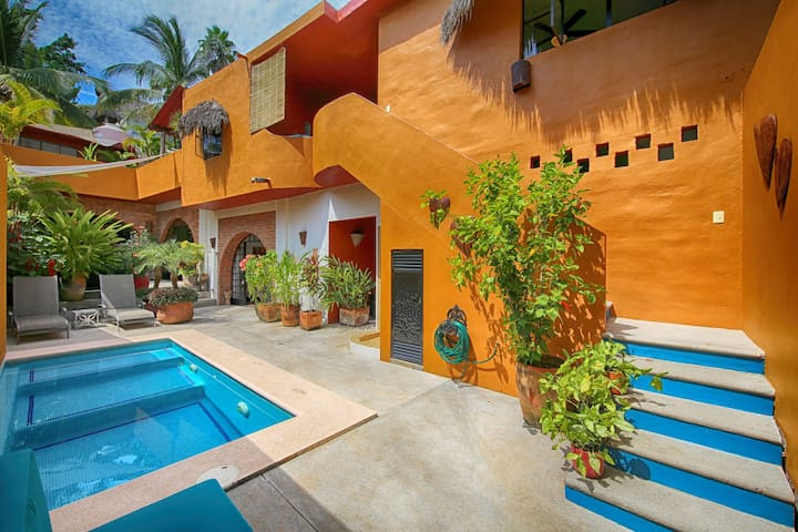 Casa Aventura-Main Floor, 3 bedroom unit - Sayulita - Rumah
