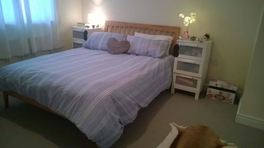 Comfy double bedroom in spacious flat city center - Dublin - Apartemen