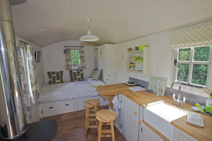 Apple Blossom Shepherds Hut - Kenn - Chatka