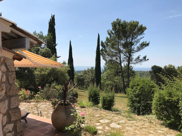 Charming villa in Tourtour, Provence, Verdon