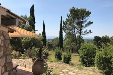 Charming villa in Tourtour, Provence, Verdon