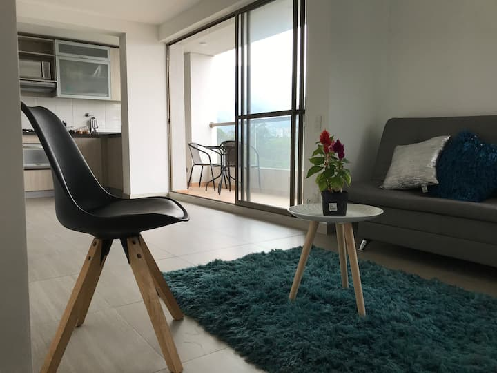 Elegant apartment with great views of Medellin
