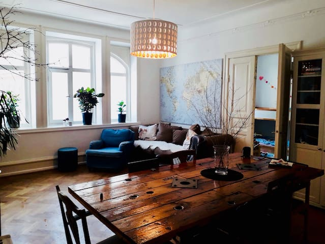 Spacious & charming in central Malmö