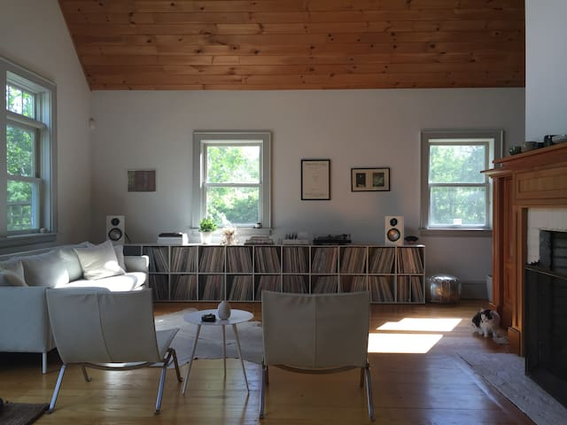 Private Room at Wild Arc Farm in the Hudson Valley - Pine Bush