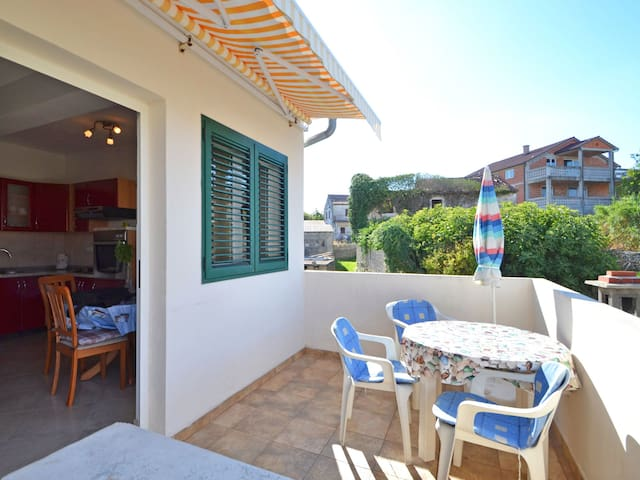 Holiday apartment Marica, in a quiet location close to the beach