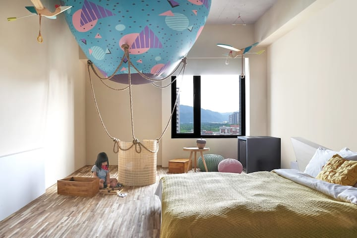 Art Quadruple Room- fly /near Yingge station
