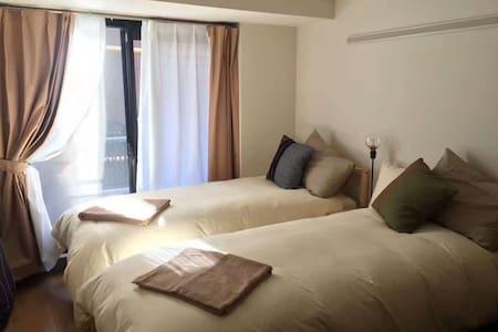 3min to Stn. Clean & Cozy 秋葉原公寓 - Chiyoda-ku - Lägenhet