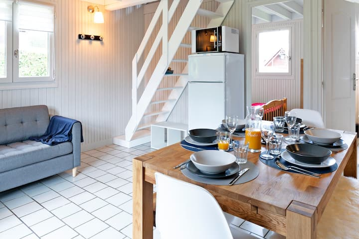 Chalets-gîtes 6pers luxury Normandie Rambault