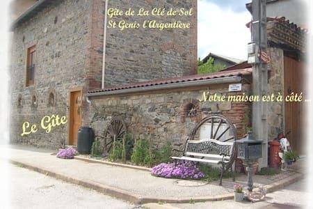Gite pour 4/6 personnes - Saint-Genis-l'Argentière - Apartmen